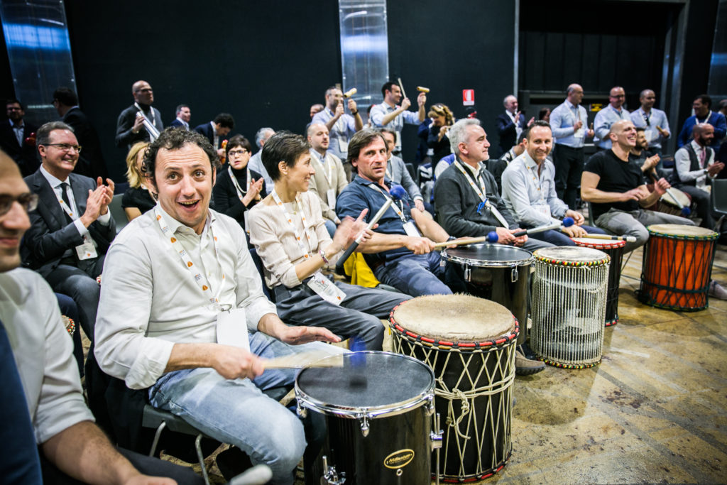 team building bern switzerland drum circle onebeat