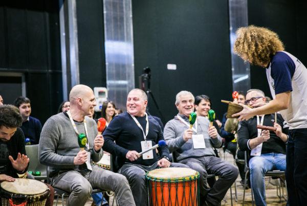 drum circle team building onebeat